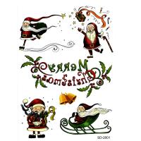 SD-2001Merry Chirstmas Temporary Tattoo sticker