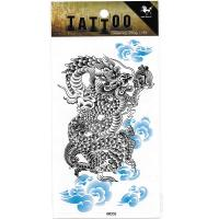 HM058 fake tattoo sticker Temporary dragon tattoo sticker