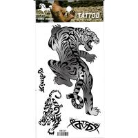 HM059 waterproof Tiger tattoo sticker