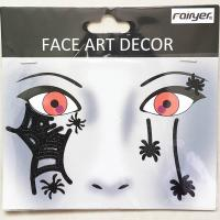 Halloween children adult people face sticker HW-EYE-003