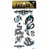 HM030 Waterproof temporary dragon tattoo sticker