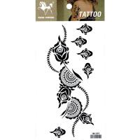 HM1099 Ladys arm flower tattoo sticker waterproof legs temporary tattoo for younger girl