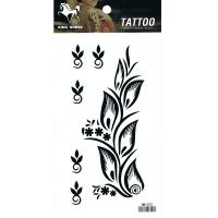 HM1072 Body art tattoo waterproof temporary flower tattoo sticker
