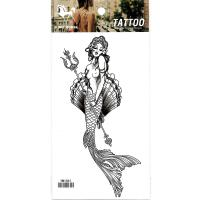 HM1061 New fashion mermaid arm fake tattoo sticker waterproof leg tattoos