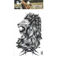 HM1134 Men Temporary lion tattoo sticker chest tattoo arm fake tattoo sticker
