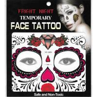 Temporary face tattoo sticker for kids birthday party