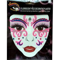 FST001 Glittle face decoration sticker for adult people