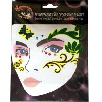 FST005 Ladys party sexy glitte face direct sticker crystal stick