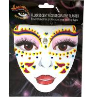 FST008 fashion glitter acrylic face tattoo diamond sticker