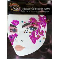 FST012 dark pink self-sticking decoration Temporary face sticker