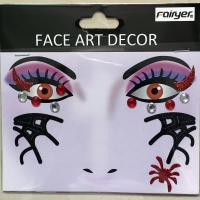HW-EYE-010 Halloween face decoration sticker party eye sticker