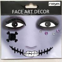 HW-EYE-011 children and adult people party Halloween face sticker