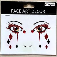HW-EYE-012 Halloween party decorations face sticker
