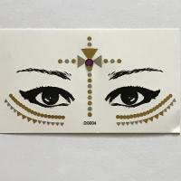 DG004 gold eye sticker face decoration sticker