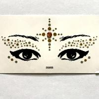 DG005 Face Jewels Rhinestones Adhesive Crystal Face Gems Beauty Body Glitter Tattoo Art Eyebrow Face Body Jewelry