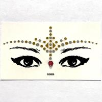DG006 Face Jewels Rhinestones Adhesive Crystal Face Gems Beauty Body Glitter Tattoo Art Eyebrow