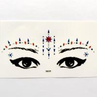 DG039 All in one face jewels sticker