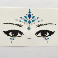 DG040 All in one face jewels sticker