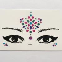 DG041 All in one face jewels sticker