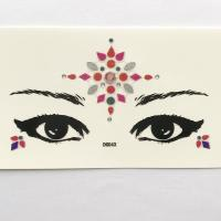 DG043 All in one face jewels sticker