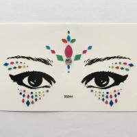 DG044 All in one face jewels sticker
