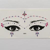 DG045 All in one face jewels sticker