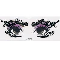 YT-001 new fashion makeup black eye stickers
