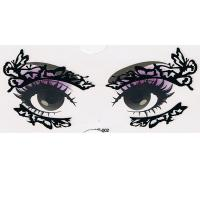 YT-002 new fashion makeup black eye stickers