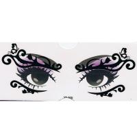 YT-003 new fashion makeup black eye stickers