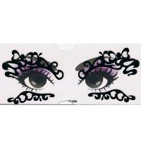 YT-004 new fashion makeup black eye stickers