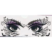 YT-008 new fashion halloween face makeup black eye stickers