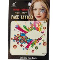 HSE09 Night party fashion design 8X8CM Temporary eye tattoo sticker