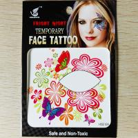 HSE10 8X8cm Night party temporary single eye tattoo sticker