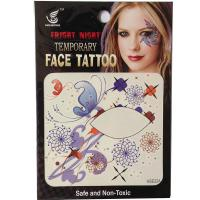 HSE22 Waterproof Temporary single eye tattoo sticker