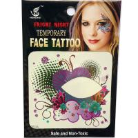 HSE23 8x8cm ladys temporary single eye  tattoo sticker