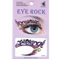 HSA001 Night party Eye rock temporary eye tattoo sticker