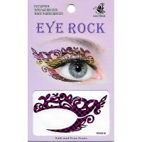 HSA010 left and right eye temporary tattoo sticker