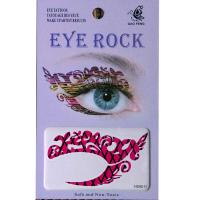 HSA011 left and right eye temporary tattoo sticker
