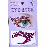 HSA012 left and right eye temporary tattoo sticker
