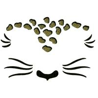 FST-07 Oem customs brand Cat face sticker