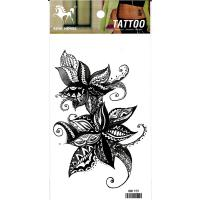 HM1159 Lady's new fashion flower temporary body art tattoo sticker
