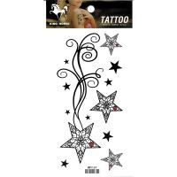 HM1167 sexy five-star hand arm waterproof temporary body art tattoo sticker
