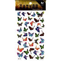 HM142 mini butterfly temporary tattoo sticker