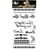 HM926 Body art tattoo sticker for girl and boys