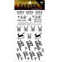 HM930 Chinese star LH deer tattoo sticker neck tattoo sticker