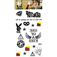 HM933 temporary body art tattoo sticker