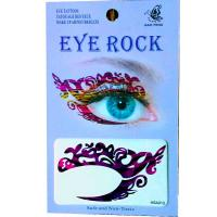 HSA013 left and right eye temporary tattoo sticker