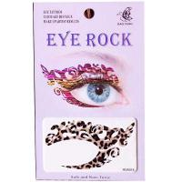 HSA014 left and right eye temporary tattoo sticker