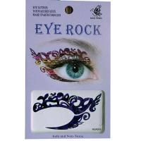 HSA015 left and right eye temporary tattoo sticker