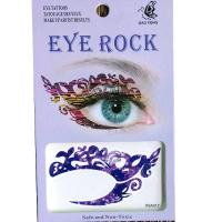 HSA017 left and right eye temporary tattoo sticker